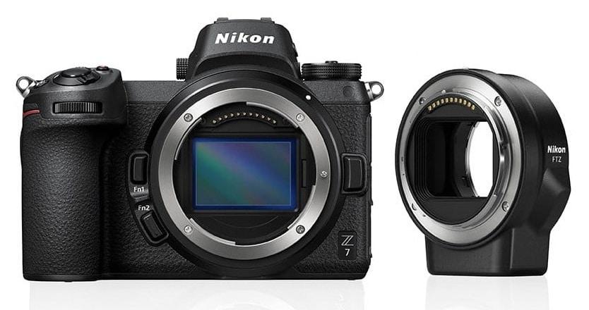 Nikon Z7 + FTZ - Aparaty