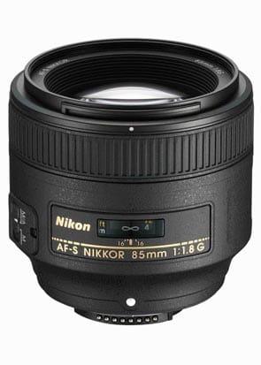 Nikon Nikkor 85 mm f/1,8G AF-S - Obiektywy