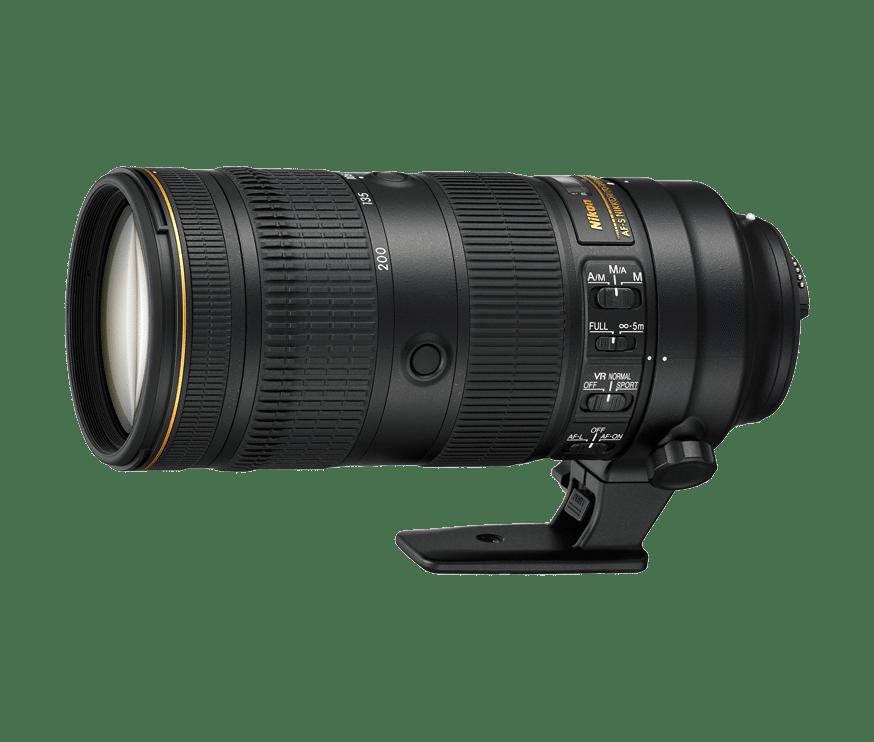 Nikon Nikkor AF-S 70-200mm f2.8E FL ED VR - Obiektywy