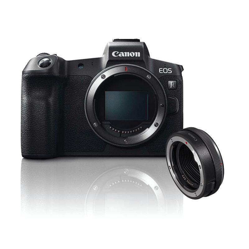Canon EOS R + adapter - Aparaty