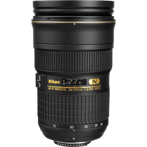 Nikon Nikkor 24-70 mm f/2.8G ED AF-S - Obiektywy