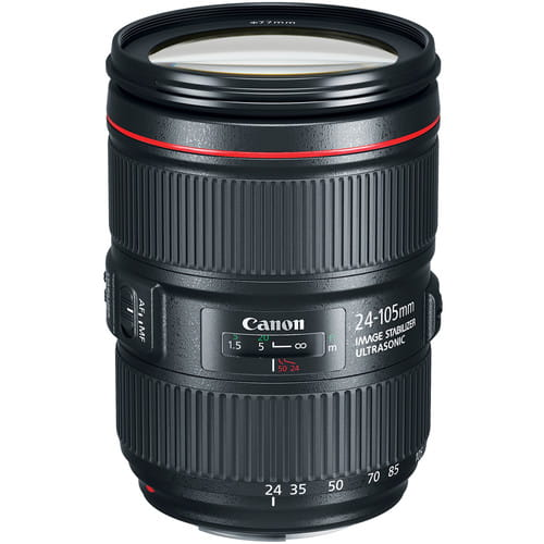 Canon EF 24-105 mm f/4.0L EF IS II USM - Obiektywy