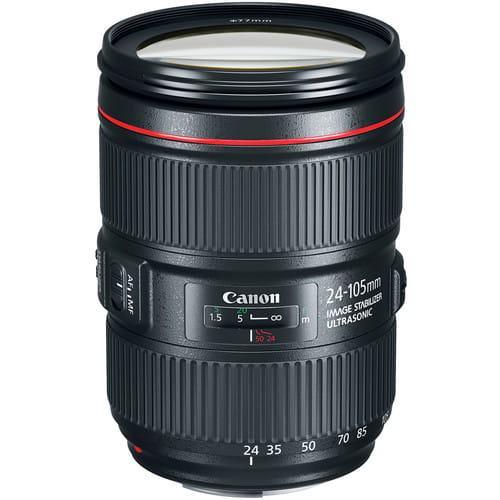 Canon EF 24-105 mm f/4.0L EF IS II USM - Obiektywy