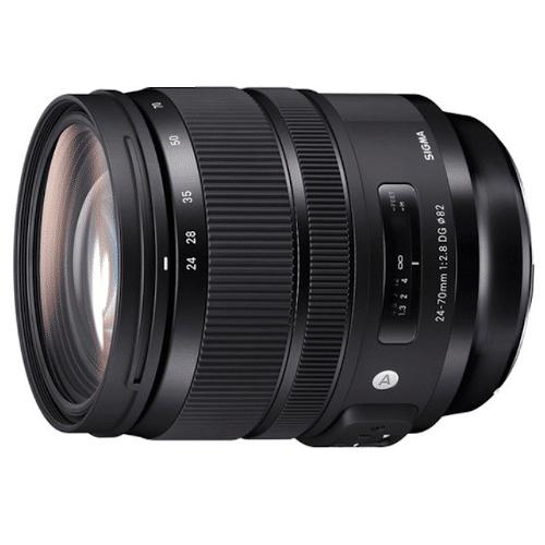 Sigma A 24-70 mm f/2.8 DG OS HSM Nikon - Obiektywy