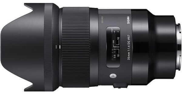 Sigma A 35mm f/1.4 DG HSM Sony E - Obiektywy