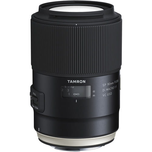Tamron 90mm f/2,8 SP Di VC USD MACRO Canon