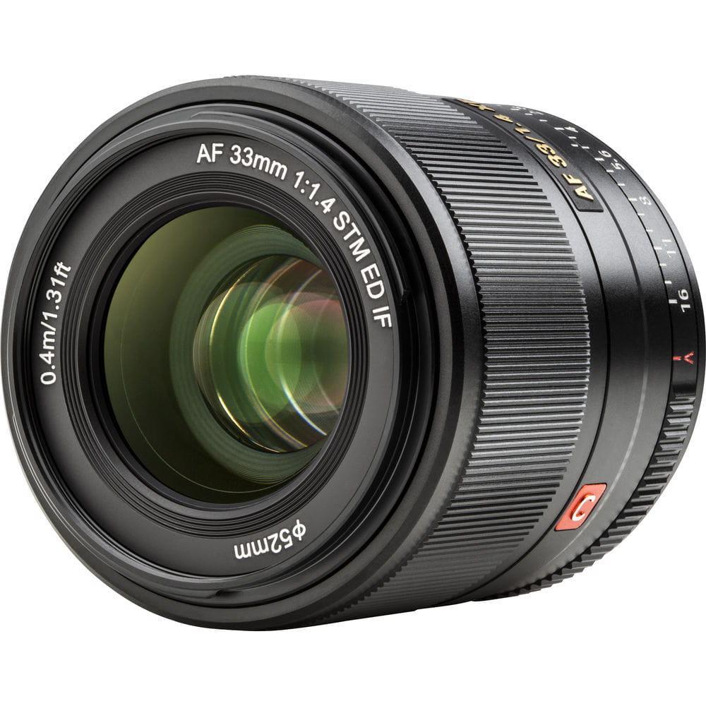 Viltrox AF 33 mm f/1.4 Fuji XF - Obiektywy
